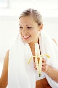 בננות לטיפול באקנה